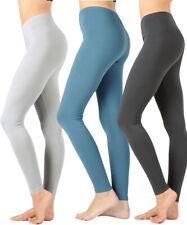 Women Premium High Waist Cotton High Waist Full Length Leggings