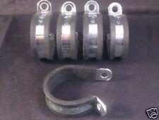"""5 x 25mm Gomma Foderato P CLIP 1 """"Wire ordinato clip in metallo"""