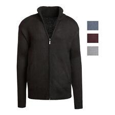 Alta Men's Casual Long Sleeve Full-Zip Mock Neck Sweater Jacket