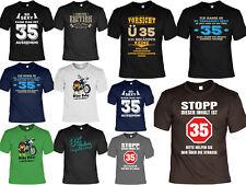 T-Shirt zum 35.Geburtstag - 35 Jahre - Coole Sprüche / Motive Geburtstag 35