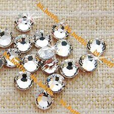 Genuine Swarovski Crystal Clear ( Hotfix / NO Hotfix ) Flatback Rhinestone Beads