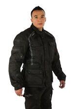 Viper Journey Waterproof Jacket Black Motorcycle Motorbike Racing Jackets