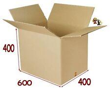 20 boîtes emballage caisse carton 600 X 400 X 400 mm SC pour l expédition de lot