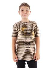 O'Neill Concha T-Shirt Camisa de verano marrón Rayas Pleasure Island