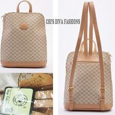 Geniune Luigi Printed Leather Trim Small Women S Backpack