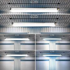SMD LED Deckenlampen Tageslicht Röhren Industriehallen Werkstatt Wannenleuchten