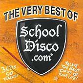 THE VERY BEST OF SCHOOL DISCO.com 3 CDS 50 TRACKS FAT CASE DJ DISCO PARTY