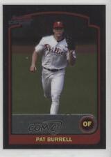 2003 Bowman Chrome #98 Pat Burrell Philadelphia Phillies Baseball Card