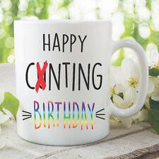 Nouveauté funny tasses à café Happy C nting anniversaire meilleur ami cadeau