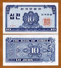 South Korea, 10 Jeon,  1962, P-28, UNC