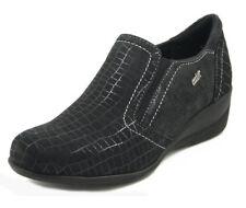 Scarpe da donna zeppe mocassini di camoscio | Acquisti