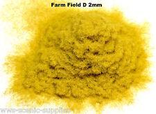 WWS 2mm Farm Field D Flock Static Grass Hornby Peco Railway Scenery