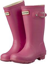 Hunter Original Kids Wellington / Wellie Boots, Pink / Fushia, BNIB