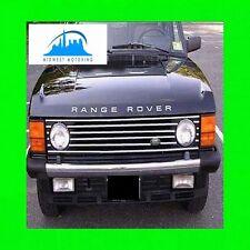 87-95 RANGE ROVER CHROME GRILLE TRIM 88 89 90 91 92 93 94 95