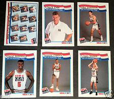 1992 McDonald's Hoops USA Basketball Dream Team 62 Card Set Michael Jordan Magic