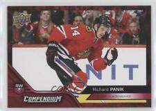2016 Upper Deck Compendium Red #66 Richard Panik Chicago Blackhawks Hockey Card