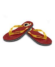 cda0b06fdbd3e9 NFL Flip Flops Washington Redskins Womens Glitter Thong Flip Flop Sandals  NEW