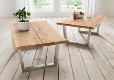 Woodlive Boston Couchtisch Beistelltisch Tisch massiv