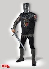 InCharacter Black Knight Medieval Renaissance Adult Mens Halloween Costume 11108