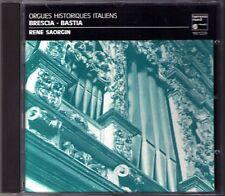 Frescobaldi Orgues storici d'Italia: Brescia & Bastia René Saorgin organo CD