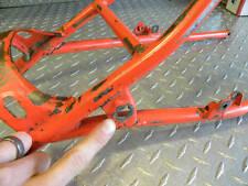 CR250 1984 HONDA ** CR 250 84 SUB FRAME