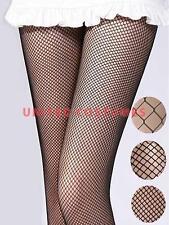 Classic Black Fishnet Pantyhose