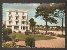 SAINT-LUNAIRE (35) JARDIN PUBLIC & HOTEL LUTETIA animé