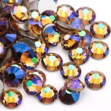 Sunlight purple Crystal Nail Art Rhinestones Non Hotfix Flatback Strass Stones