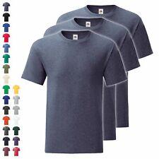 3er Pack Fruit of the Loom Iconic T Herren T-Shirt Mehrpack Größe S - 5XL NEU