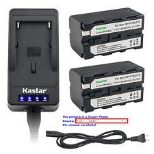 Kastar Battery LED Fast Charger for NP-F570 CN-126 CN-160 CN-216 LED Video Light