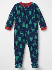 NWT BABY GAP BOYS PAJAMAS PJS  Xmas Holiday fleece sleeper   4T