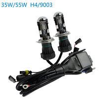 35W/55W HID Xenon Bi-xenon Hi/Low Bulbs Relay Harness H4 H13 9003 9004 9007 9008