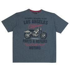 Da Uomo Cargo Bay Los Angeles T-Shirt Girocollo EXTRA LARGE PLUS / grandi dimensioni