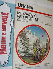 * urania 747 grinnell MESSAGGIO PER PLUTONE  qottimo