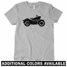 VINTAGE MOTORCYCLE Women's T-shirt - Moto Bike Cafe Racer Sport Cruiser - S-2XL