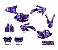 CRF450X Graphics 450X Decal Sticker kit fits 2005 - 2015 #9500 Purple Zombie