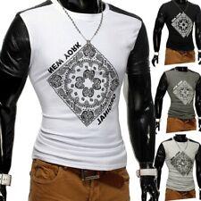 T-shirt pour hommes unisexe POLO clubwear Bandana motif cachemire Mexico Plus