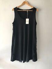 COUNTRY ROAD::[CR LOVE] NEW! SZ S,M,L,XL bobble linen dress black 10,12,14,16