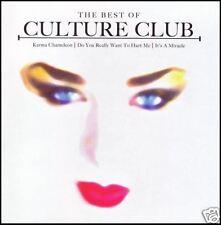 CULTURE CLUB - THE BEST OF CD ~ KARMA CHAMELEON ++ BOY GEORGE ~ 80's DISCO *NEW*