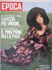Epoca 1074 1971 Rivale di Nino Benvenuti.Monica Vitti.Cina:rivoluzione sanitaria