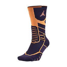 Nike Jordan Jumpman Flight Crew Socks Ink/Mandarin 642210-537 Sz S L XL