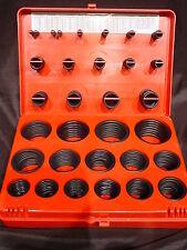 382 Piece Nitrile Rubber Faucet O Ring Gasket Seal Set Kit SAE Standard Sizes