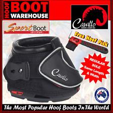 Cavallo 'SPORT' Hoof Boots (Pair)  -  Horse. Equine. Protection. REGULAR SOLE!