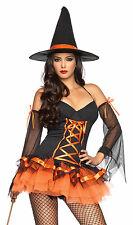 Hocus Pocus Hottie Witch Costume, Leg Avenue 83632, Adult 3 Piece, Size S/M, M/L