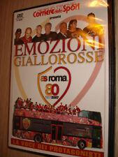 2 DVD AS ROMA CALCIO 80 ANNI DI EMOZIONI GIALLOROSSE 1927-2007 CORRIERE SPORT