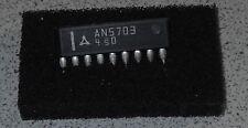 IC AN5703, TV, Tuner-Bandumschaltung/Band Switch, 1 Stück NOS