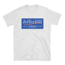 President Thomas Jefferson 1800 Alexander Hamilton T-Shirt - 100% Cotton Shirt