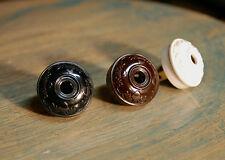 Vintage Style Acorn & Oak Electrical Plug - Bakelite Replica antique cord rewire