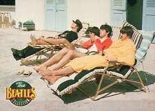 Sun Bathing in Miami Beach, Florida, February 1963 --- Beatles Trading Card