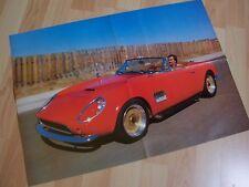 Poster d'époque 4 pages MODENA Ferrari Replica 198? //